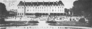 L'Esplanade de l'école miliaire, histoire de la Vaillante